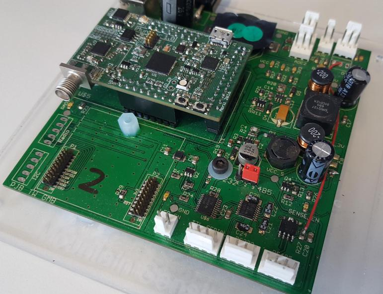 our muntjac processor board on our ms1 board