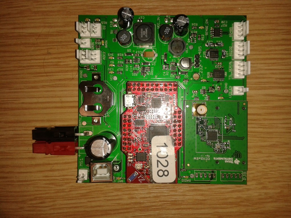 The first generation of mountain sensing PCB